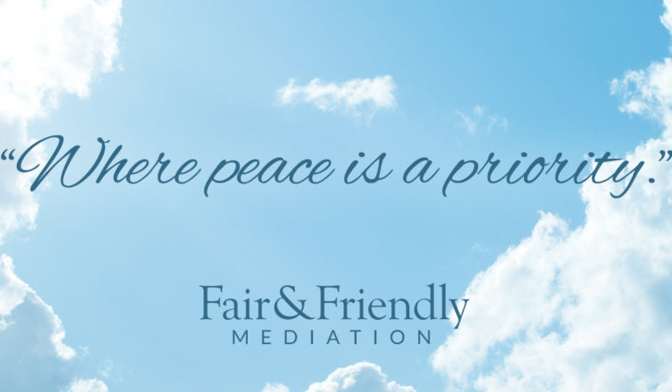 where peace is a priority